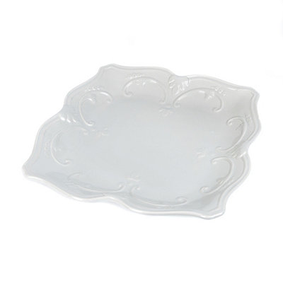 Gray Sweet Olive Dinner Plate