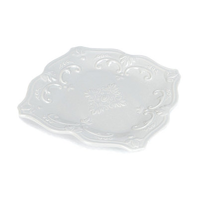 Gray Sweet Olive Salad Plate