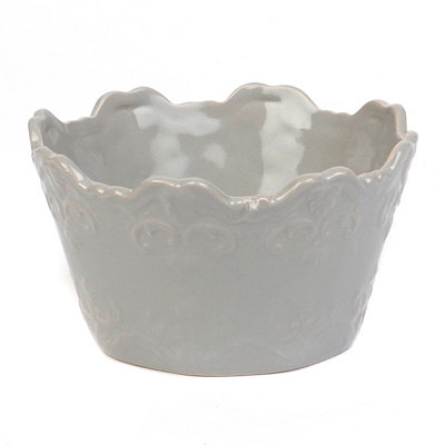 Gray Sweet Olive Cereal Bowl