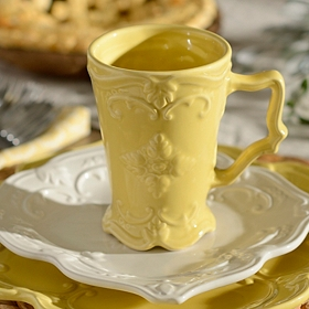 Yellow Sweet Olive Beverage Mug