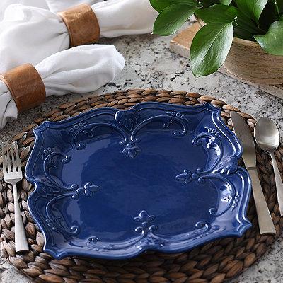 Blue Sweet Olive Dinner Plate