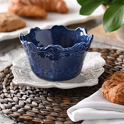 Blue Sweet Olive Cereal Bowl