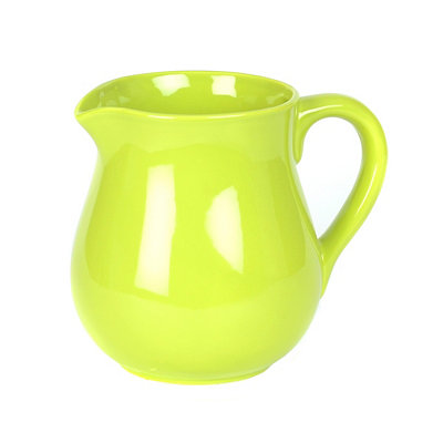 Fiesta Lime Ceramic Pitcher