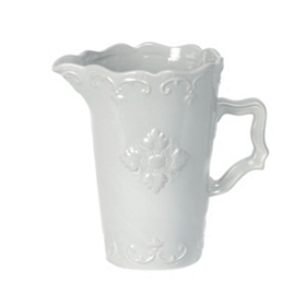 Gray Sweet Olive Ceramic Pitcher