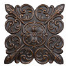 Osiris Rosette Bronze Wall Plaque