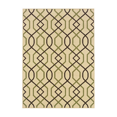 Sydney Geo Indoor/Outdoor Rug, 5x7