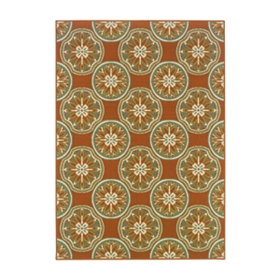 Sydney Kaleidoscope Indoor/Outdoor Rug, 5x7