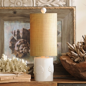 Coastal Cylinder Table Lamp