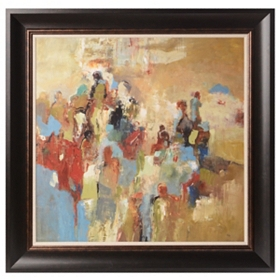 Urban Calling Framed Art Print