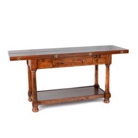 Tri-Fold Console Table