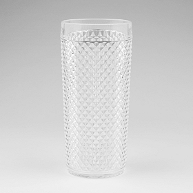 Clear Santini Shatterproof Highball Glass