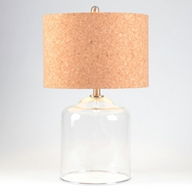 French Cork Table Lamp
