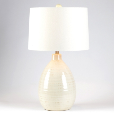 Giselle Ivory Ceramic Table Lamp