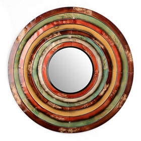 Aura Stepped Mirror, 36 in.