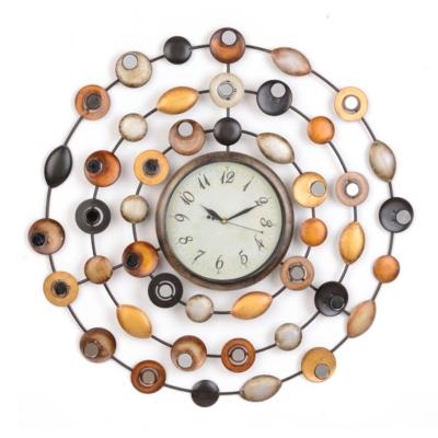 Metallic Dots Wall Clock