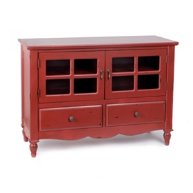 Adella Red Cabinet