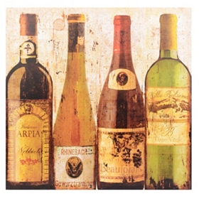 Wine Samples of Europe II Canvas Art Print