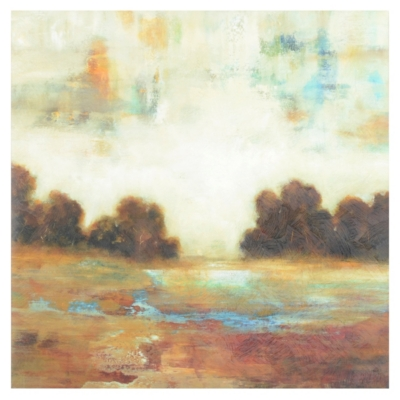 Layered Scape Canvas Art Print