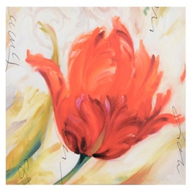 Tulip Impression Canvas Art Print