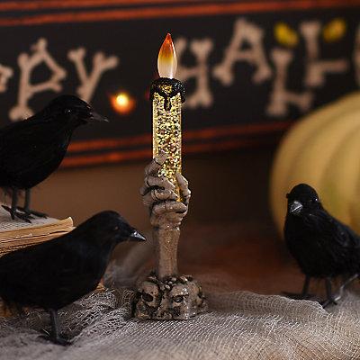 Skeleton Hand LED Candle