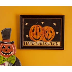 Happy Halloween Framed Art Print