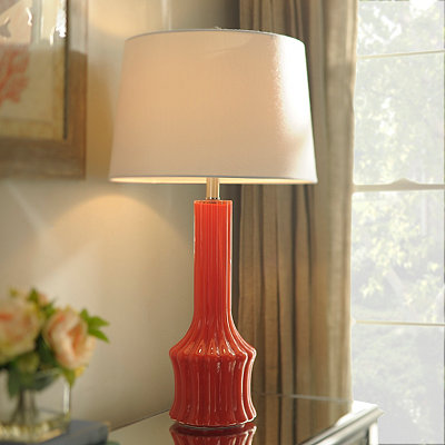 Caribbean Coral Table Lamp