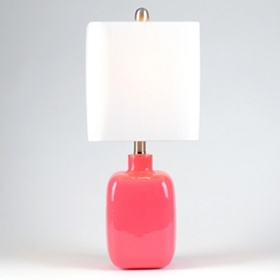 Carmine Rose Table Lamp