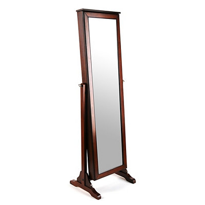Cherry Cheval Armoire Mirror