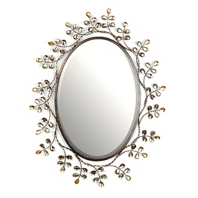 Fresca Metal Wall Mirror, 24x30