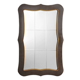 Judson Wood Wall Mirror, 30x47