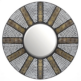 Athena Mosaic Wall Mirror, 26 in.