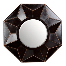 Burlington Brown Wall Mirror, 32x32
