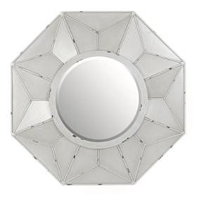 Burlington Gray Wall Mirror, 32x32
