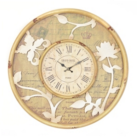 Laurie Wooden Clock