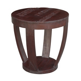 Coconut Shell Accent Table