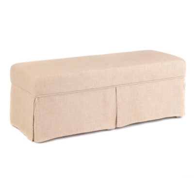 Nora Skirted Bench