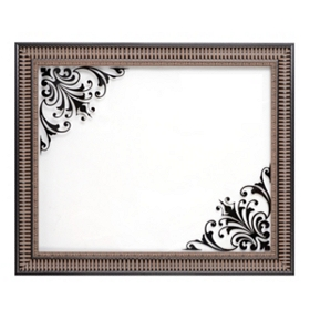 Dry Erase Decorative Glass Wall Plaque