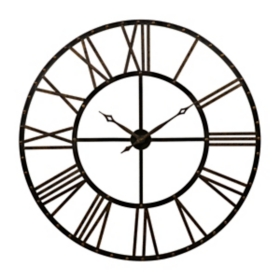 Addison Open Face Clock