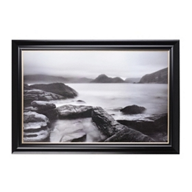 Coastal Calm Framed Art Print