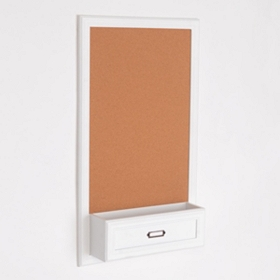 Corkboard with Ledge Pocket