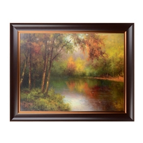 Hideaway Lake Framed Art Print