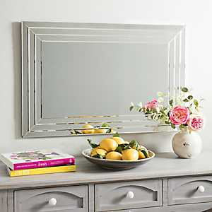 Infinity Frameless Wall Mirror, 24x36 in.