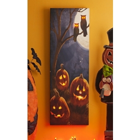 Hallows Eve LED Canvas Art Print