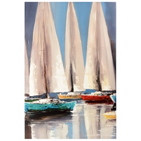 Sailaway Canvas Art Print