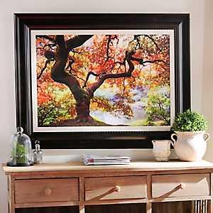 Enchanting Forest Framed Art Print