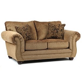 Melody Mocha Loveseat