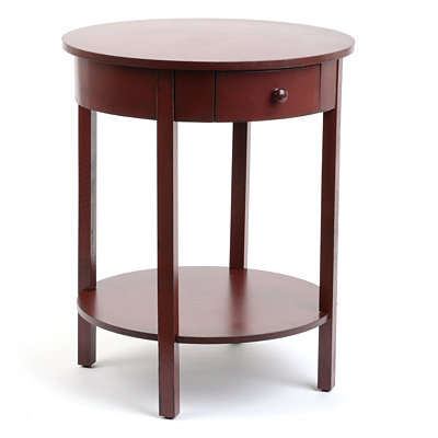 Selina Red Accent Table