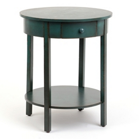 Selina Blue Accent Table