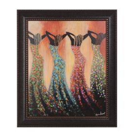 Dance of the Summer Solstice Framed Art Print