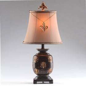 Isaac Bronze Table Lamp